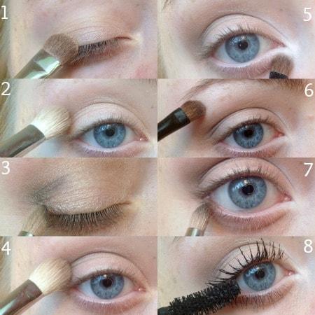 Natural eyeshadow tutorial