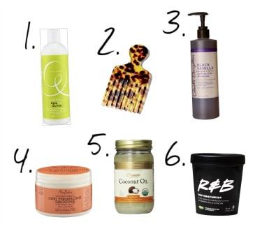 Natural Hair Care Set