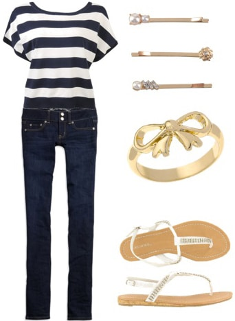 Nautical Outfit 1