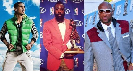 NBA star fashion