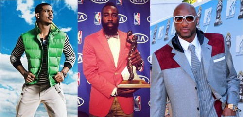 NBA star fashion