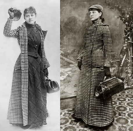 Nellie bly travel looks