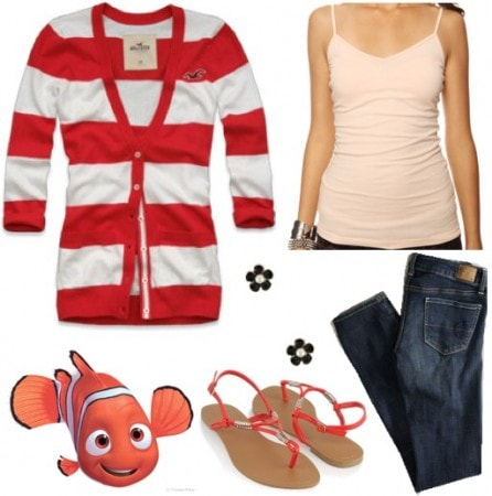 Fashion Outfit inspired by Nemo from Finding Nemo