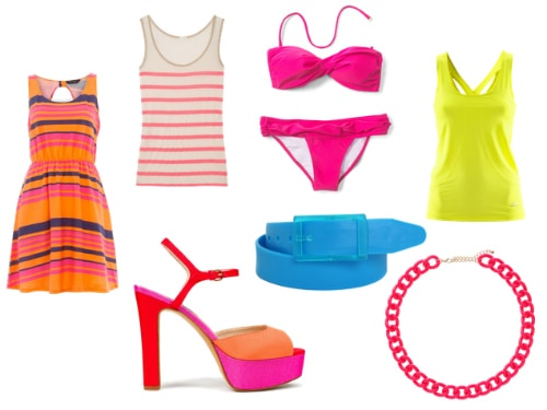 Neon Clothes and Accessories