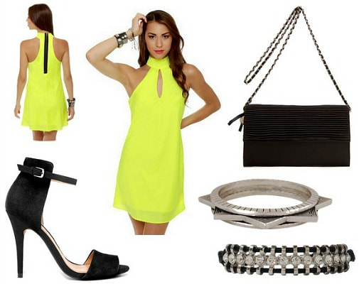Neon outfit 4