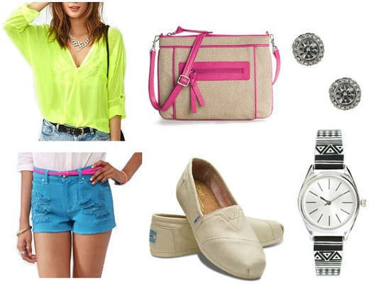Neon outfit 5