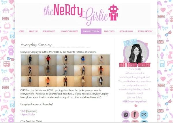 Nerdy girlie