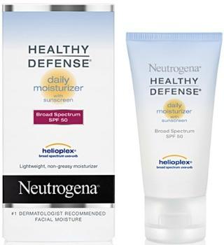 Neutrogena healthy defense daily moisturizer in spf 50