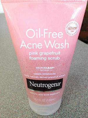 Neutrogena Oil Free Acne Wash Pink Grapefruit