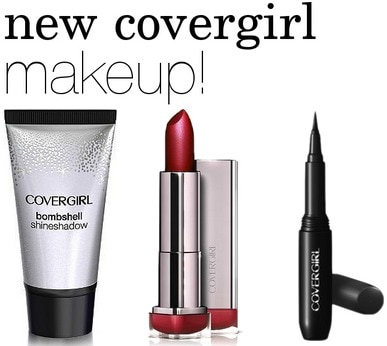 New covergirl makeup products
