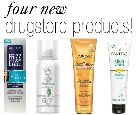 New drugstore hair care products