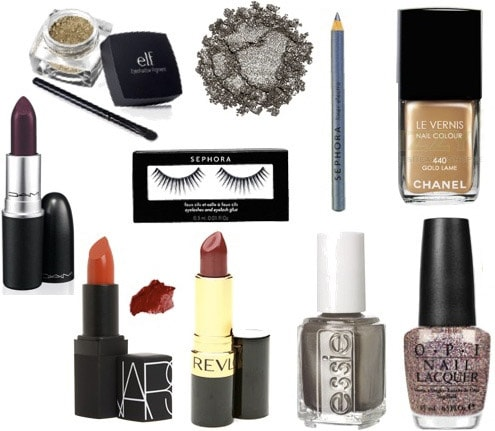 Makeup and beauty products for New Year's Eve