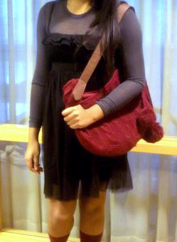 College student fashionista Niani at Mount Holyoke College