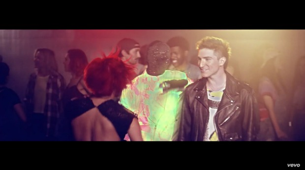 Screenshot from Shut up and dance video
