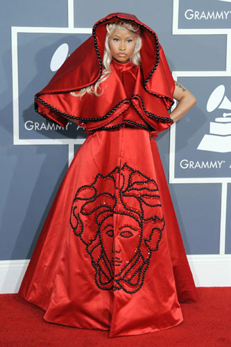 Nicki Minaj at the 2012 Grammy Awards