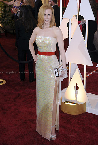 Nicole Kidman in Louis Vuitton at the 2015 Oscars