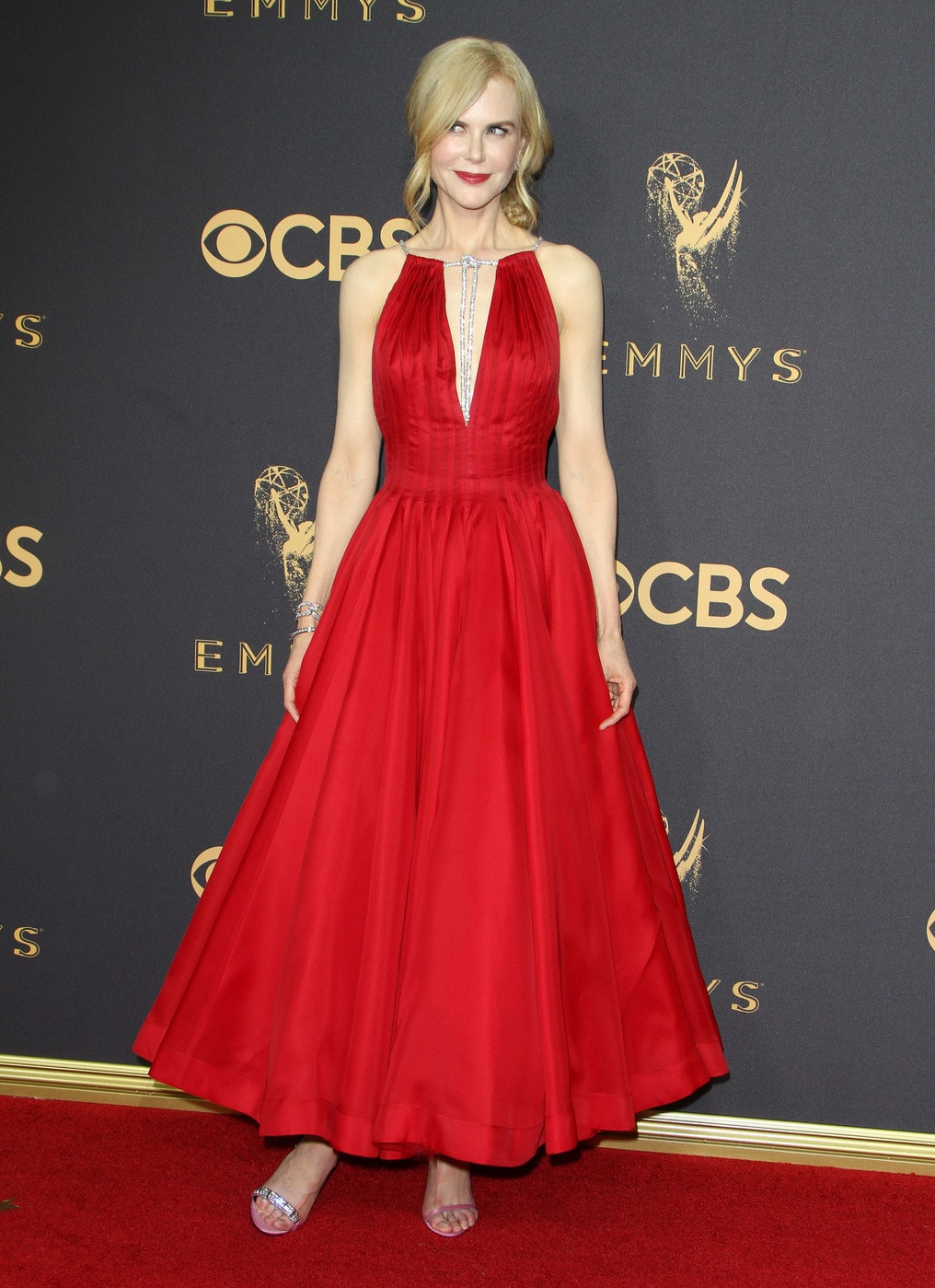Nicole Kidman in Calvin Klein by Appointment at the 2017 Emmys