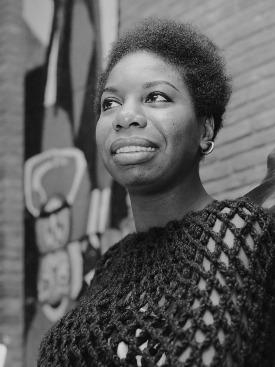 Nina Simone Afro