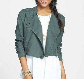 Nordstrom rack drape front twill jacket
