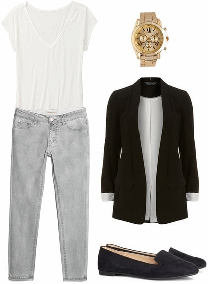 Normcore inspired fall outfit