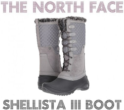 Best winter boots: The North Face Shellista III Boot