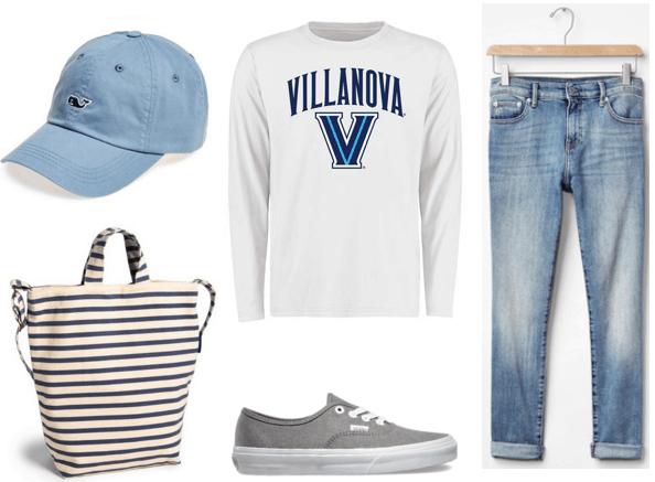 Villanova Outfit