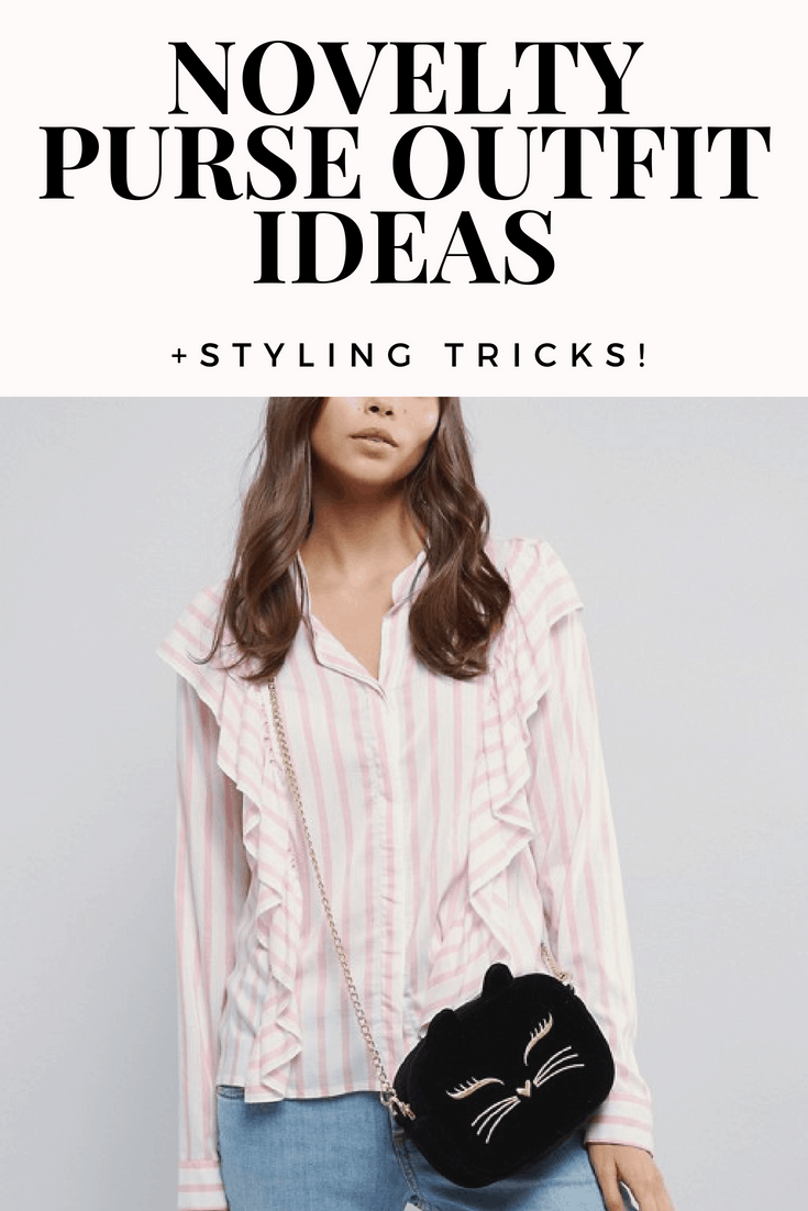 Novelty purse outfits and styling tricks