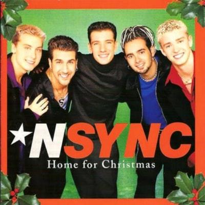NSYNC Home for Christmas album cover