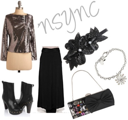 Outfit inspired by NSYNC's Home for Christmas