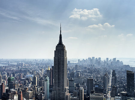 NYC Skyline during the day