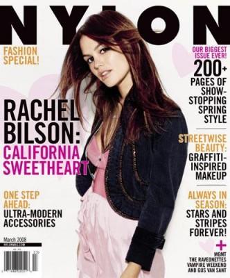Nylon March 2008  Rachel Bilson