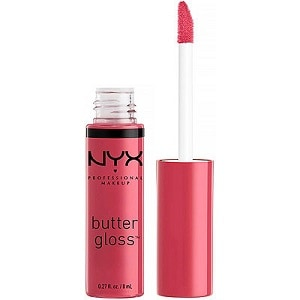 NYX Butter Gloss in Strawberry Cheesecake