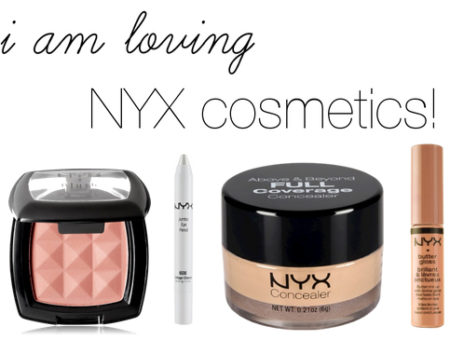 Nyx cosmetics must haves