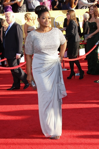 Octavia Spencer in Tadashi Shoji at the 2012 Screen Actor's Guild Awards
