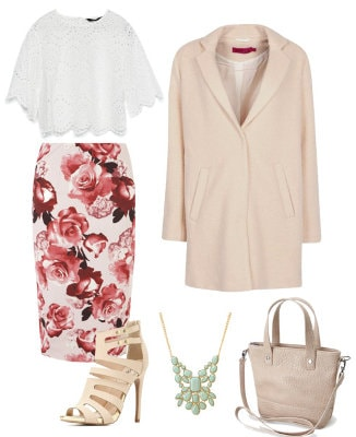 Odlr brunch outfit set