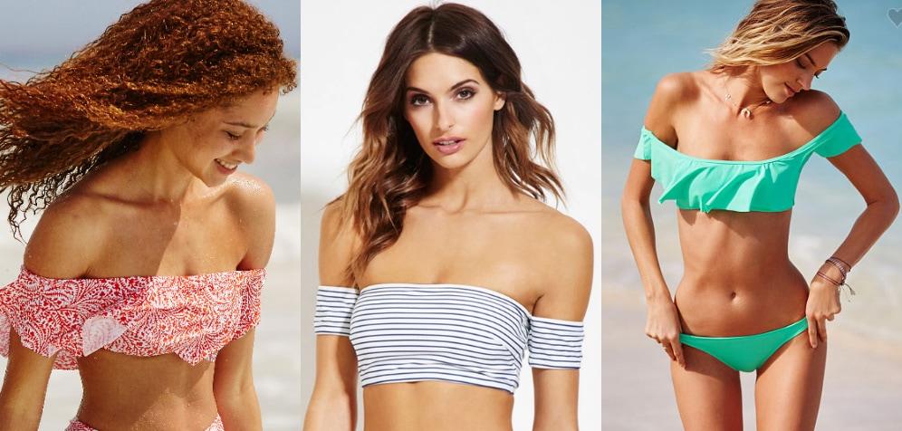 Off-the-shoulder-bikini