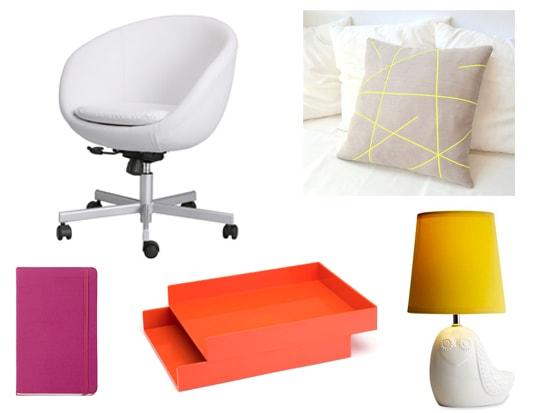 Jonathan Adler inspired office