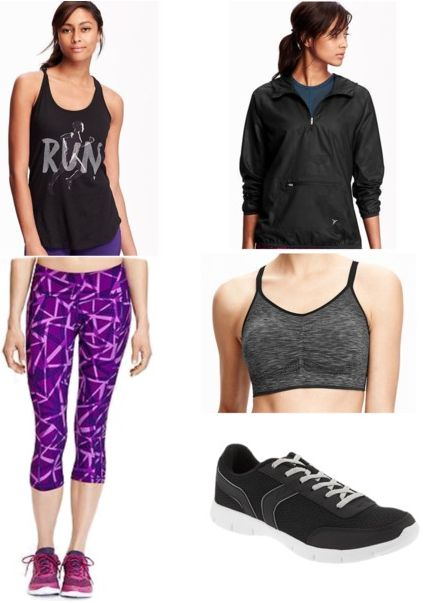Old Navy gym outfit