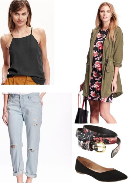 Old Navy first day of class outfit