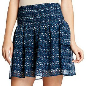 Old navy tiered chiffon skirt