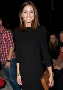 Olivia Palermo rocking a blunt cut hairstyle