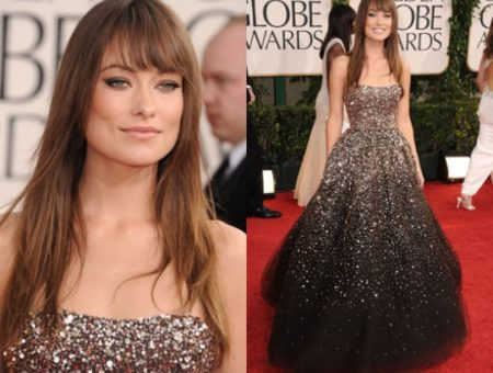 Olivia Wilde 2011 Golden Globes