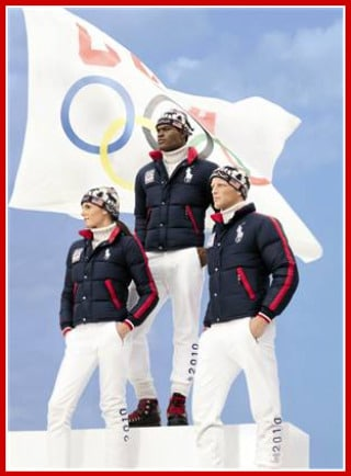 ralph lauren olympic design