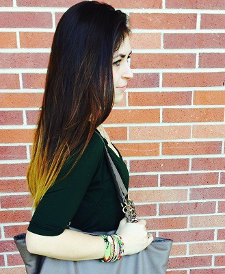 Ombre hair at sonoma state university