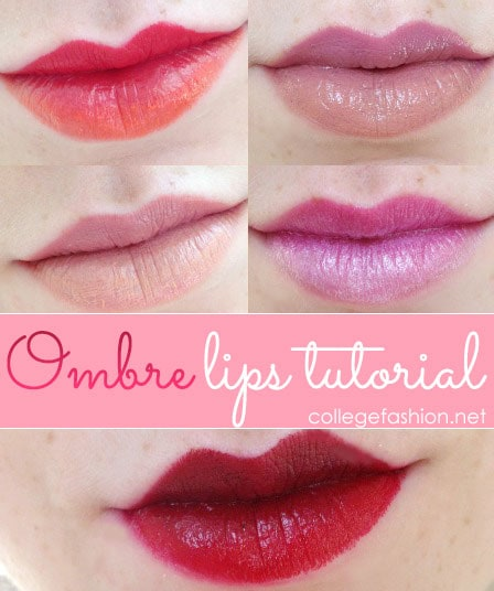 Ombre lips tutorial