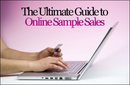 Online Sample Sales
