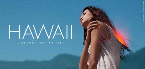 OPI Hawaii collection header