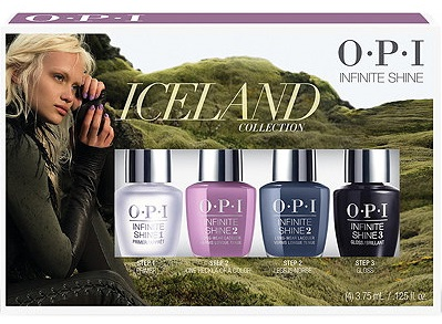 OPI Infinite Shine Iceland Mini 4 Pack Collection