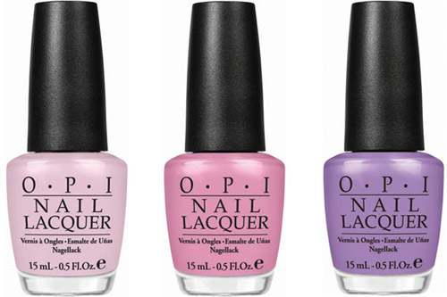 OPI Pirates of the Caribbean nail polish - Steady As She Rose, Sparrow Me the Drama, Planks a Lot