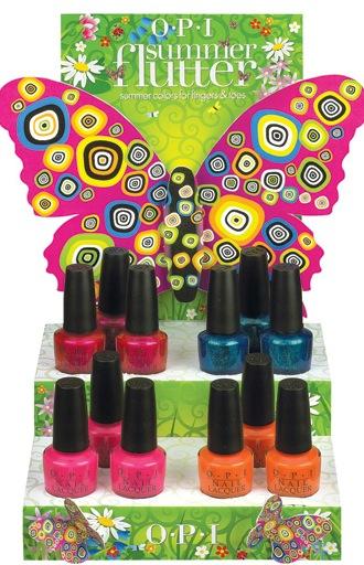 OPI Summer Flutter Collection